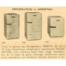réfrigérateurs  1955