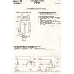 fiche technique HP 216 C bis