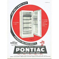 pub réfrigérateur Pontiac