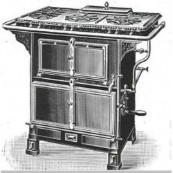 cuisinière avec bouillotte