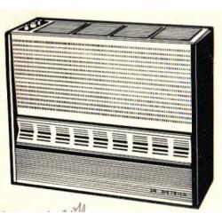 1318 radiateur à gaz De Dietrich