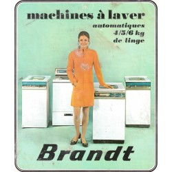 catalogue lave linge 1970