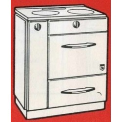 Cuisinière à charbon  N° 1443 Brachet Richard