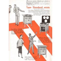 pub cuisinière standard mixte