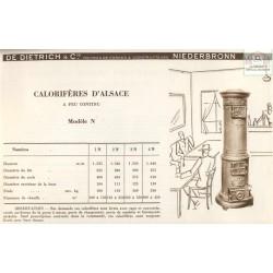 calorifère d'Alsace N 1934