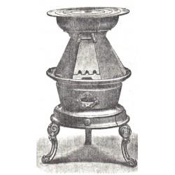 Poêle à fers boucher
