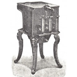 Poêle à fers de tailleur