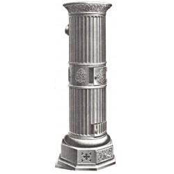 fourneau à colonne cannelée