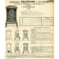 Cheminée Dauphine N°230