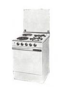 les cuisinières mixtes