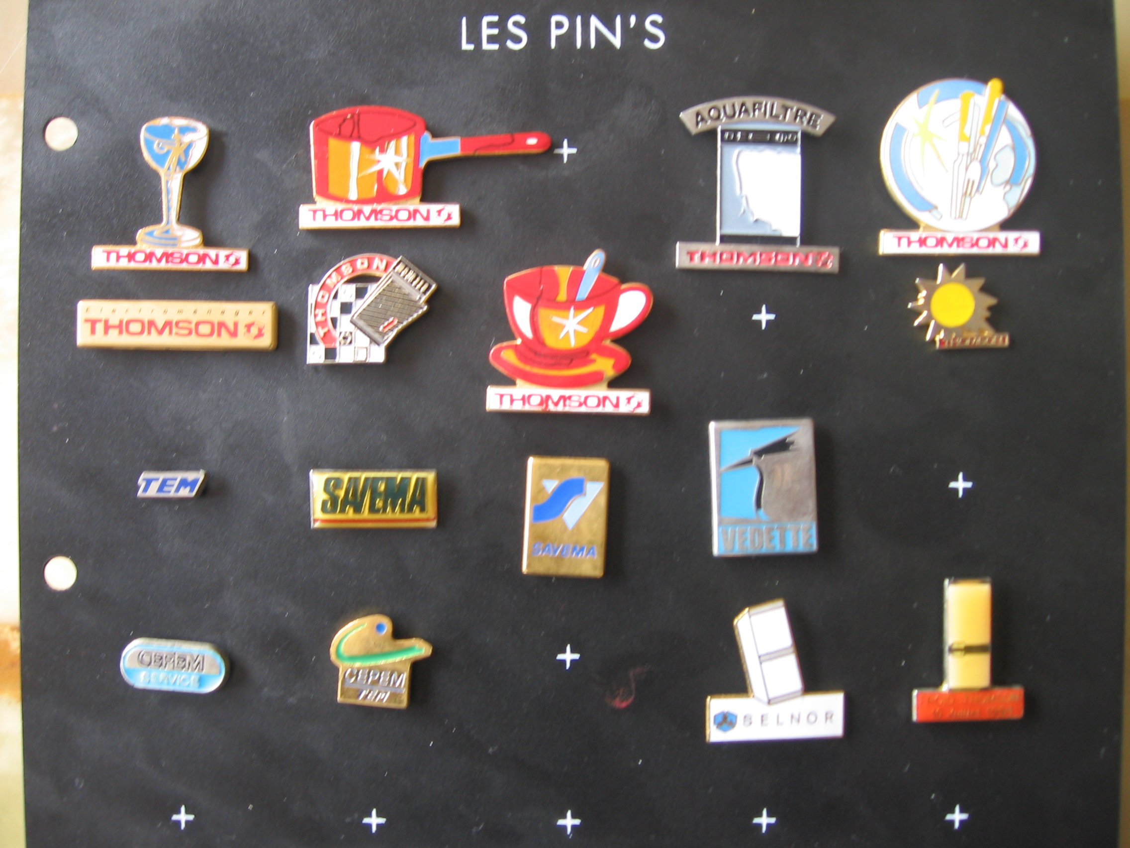 pin ' s du groupe brandt