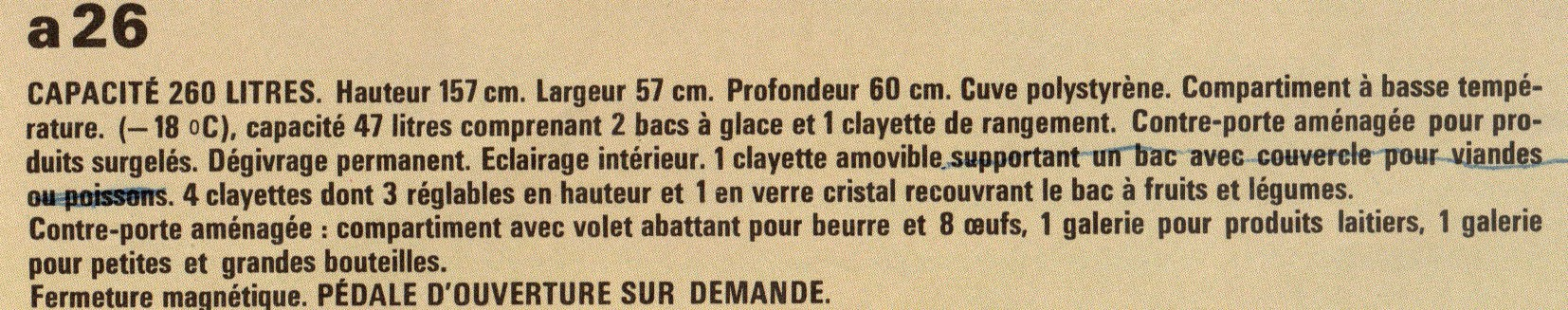 description a 26