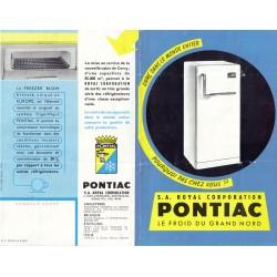 réfrigérateur Pontiac 1961