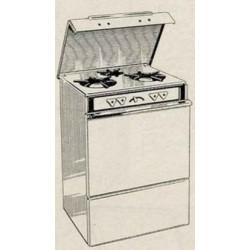 cuisinière CG 31 Brandt