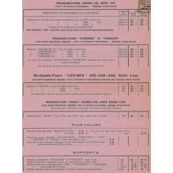 tarif 1931