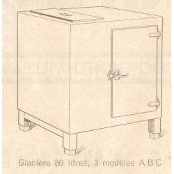meuble glacière 80 L de dietrich