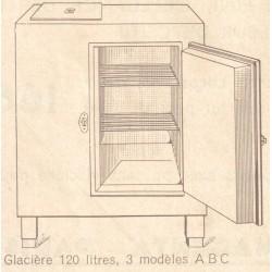 meuble glacière 120 L de dietrich
