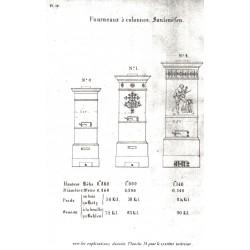 fourneaux à colonne N° 0 1 2 3