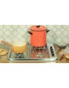 les produits cuisson encastrables table émail ou inox du groupe Brandt